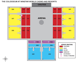 28 Cogent Winstar Event Center Seating Chart