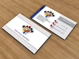 pro style painting business card