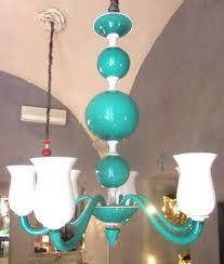 murano glass chandelier by paolo venini 1950s 2