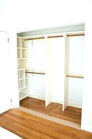 build your own wooden closet system a how to organizer amazing of framed wall idea for