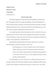 Essay Mla Format Essay Header English Pics Sample Cover Letter