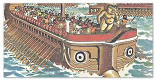 Сообщение о финикийских мореплавателях и их путешествиях класс  Древние корабли и галеры