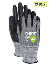 Magid Cut Resistant Foam Nitrile Coated Gloves Size 5 12 Pairs