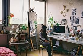 artists studio lighting. 22 Home Art Studio Design And Decorating Ideas That Create Inspiring Spaces Artists Lighting N
