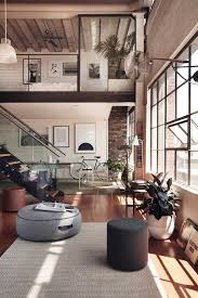 Image Apartment Dreamy Collaboration Between Hunting For George Grazia And Co Love The Soft And Cozy Vibe Of The Loft Mixed With The Industrial Design Pinterest Dreamy Industrial Loft Come On In daily Dream Decor Interior