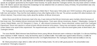 a lesson on victory tuskegee airmen at com essay on a lesson on victory tuskegee airmen