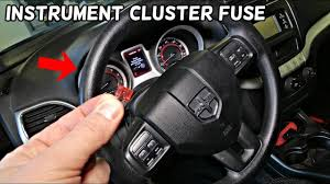 2009 Dodge Journey Warning Lights Dodge Journey Instrument Cluster Gauges Fuse Location Replacement Fiat Freemont