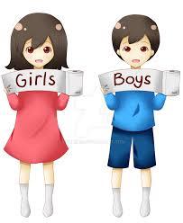 Boy Bathroom Sign Cartoon Toilet Signs