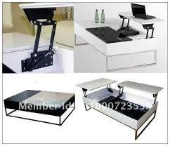 Elegant Pop Up Coffee Table Mechanism In Small Home Decoration Ideas With Pop  Up Coffee Table Mechanism