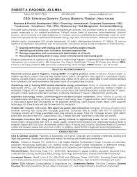 Sample Resume Investment Banking Tomyumtumweb Com