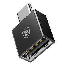 <b>Baseus Type C Male</b> to USB Female Cable U Disk OTG Adapter ...