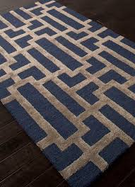 gorgeous low jaipur rugs rug111626 hand tufted geometric in tan and blue area rug inspirations 2