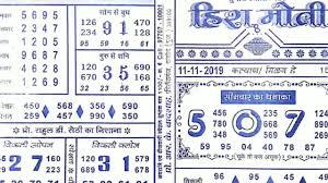 Hira Moti Satta Chart Heera Moti Chart 11 11 19