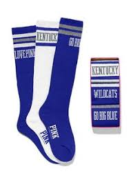 fan outfitters. university of kentucky sock gift set - victoria\u0027s secret pink fan outfitters