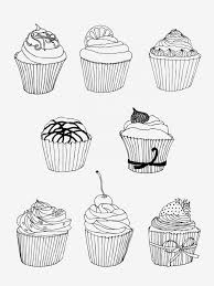 Birthday Cake Coloring Page Cupcake Coloring Pages Easy And Fun Free