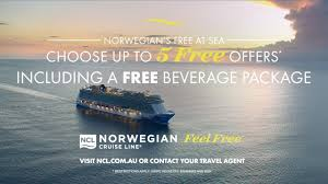 norwegian cruise line 2018 au tv mercial 30