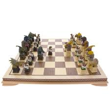 Dinosaur chess set | Natural History Museum Online Shop
