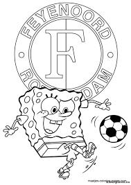 Feyenoord Kleurplaten Kleurplateneu