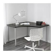 ikea linnmon corner table top home office desk writing study computer table 120x120 cm malaysia