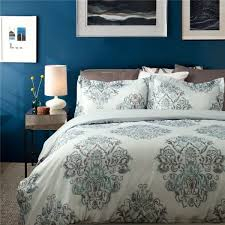 whole polyester white duvet cover set printed feather proof fabric
