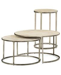 lovely nesting coffee tables with monterey round tables 2 piece set nesting coffee table and end
