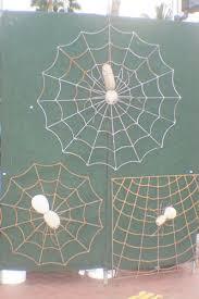 Artist Lorenzo Ortega's spider webs