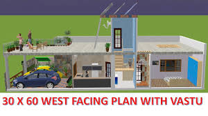 7 house plan 30x60 west facing house plan 2018 with vastu