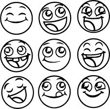 Smiler emoji coloring page from the emoji movie category. Emojis Coloring Pages Coloring Home