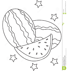 Small Picture Watermelon Coloring Page Enchanting brmcdigitaldownloadscom