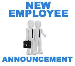 New Employee Announcement Letter Announcement Letter Examples
