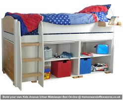 build your own home office. Kids Avenue Urban Midsleeper Bed Build Your Own Home Office F