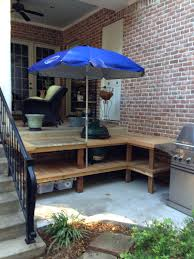 Complete Outdoor Kitchen Our Newly Constructed Outdoor Cooking Area For Big Green Egg And