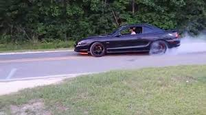 My 97 GT 4.6 Mustang burnout - YouTube