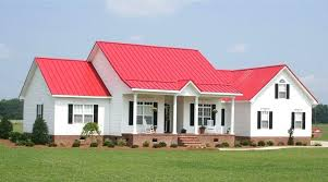 houses with red roofs metal roofing for residential and commercial union corrugating roof house color combinations
