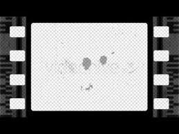 Film Picture Template Old Film Perforated Frame Motion Graphics Videohive Template