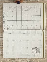 Monthly Calendar Notebook 10 Monthly Layouts To Simplify Your Life Page Flutter