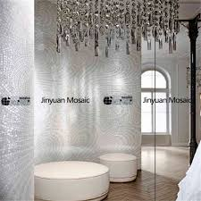 jy m ab03 abstract mosaic painting silver bathroom tile handmade glass mosaic art