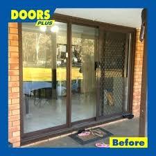 external sliding doors thermal break aluminum sliding doors air proof external glass