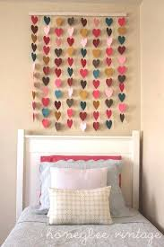 incredible decorate bedroom diy ideas heart wall art heart collage jpg