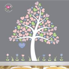 heart tree wall stickers