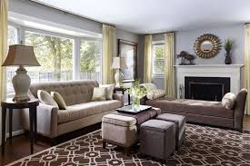 Living Room  Transitional Style Living Room Decor Color Ideas - Living room inspirations