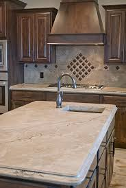 light brown concrete countertop that has a marble look by ben ashby