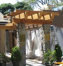 French Laundry  Pergola Entrance 1  Frank Borges Jr General Contracting