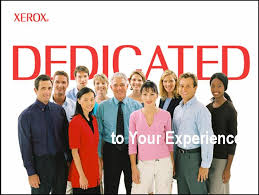 xerox is dedicated to a great customer