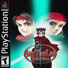 Arc The Lad Collection Psx Front Cover