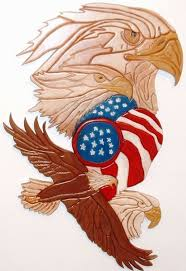united states flag with eagle better sculptured wood eagles patriotic flag wall decor photos