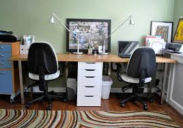 dual desk home office. Dual Desk Home Office