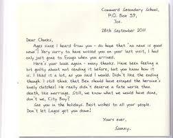 grammar clinic letter writing informal letter com informal letter