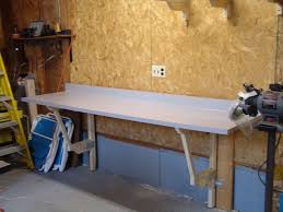 Fold Up Shelf Make A Cheap Fold Down Workbench 4 Steps With Pictures