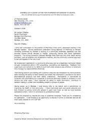Sample Cover Letter Format For Internship Outstanding Internship